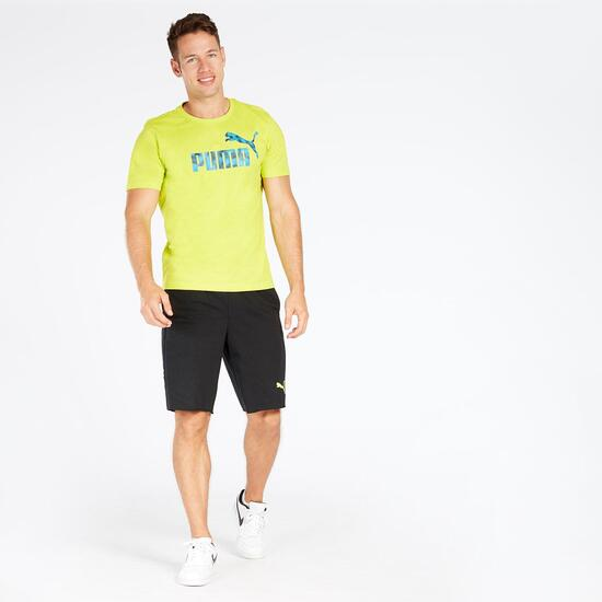 Camiseta Verde Hombre Puma Hero