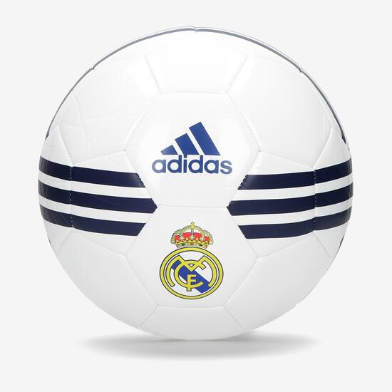 ADIDAS Balón Fútbol Real Madrid CF Blanco