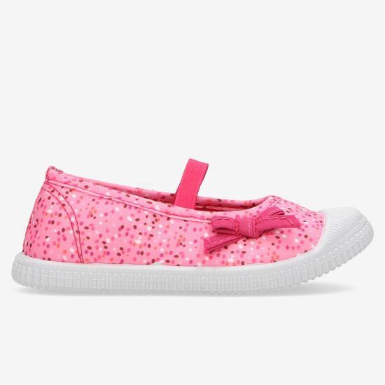 Zapatillas Lona Rosas Niña Up
