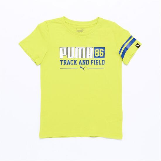 PUMA Camiseta Verde Niño (8-16)