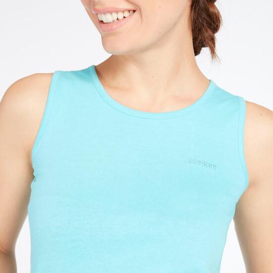 Camiseta Tirantes Celeste Boriken Mujer