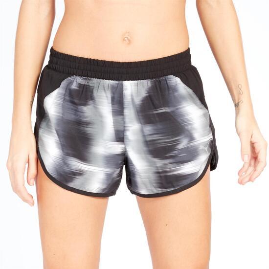 Pantalón Corto Running PUMA Estampado Mujer