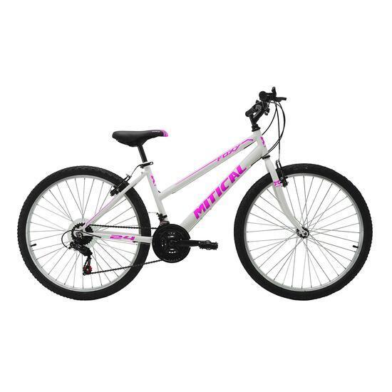 """Bici Montaña MÍTICAL FOXY 24"""" Blanca Niña"""