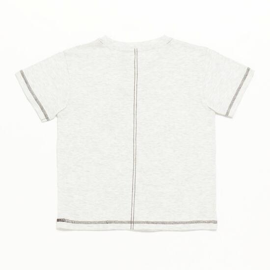 Camiseta Niño Blanco Vigore Silver Culture
