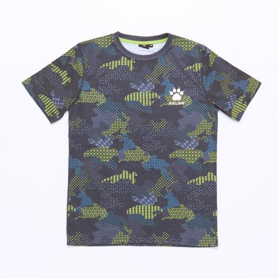 Camiseta KELME Gris Niño (10-16)