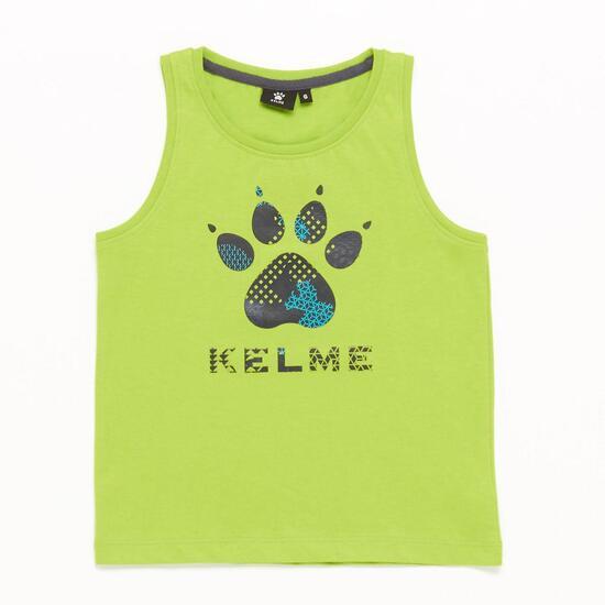 Camiseta Tirantes Verde Niño (2-8)