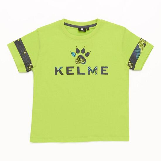 Camiseta KELME Verde Niño (2-8)