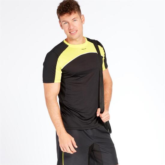Camiseta Tenis PROTON COMBI Negro Hombre
