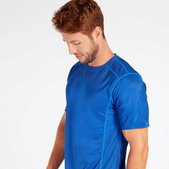 Camiseta Tenis Azul Hombre Protón