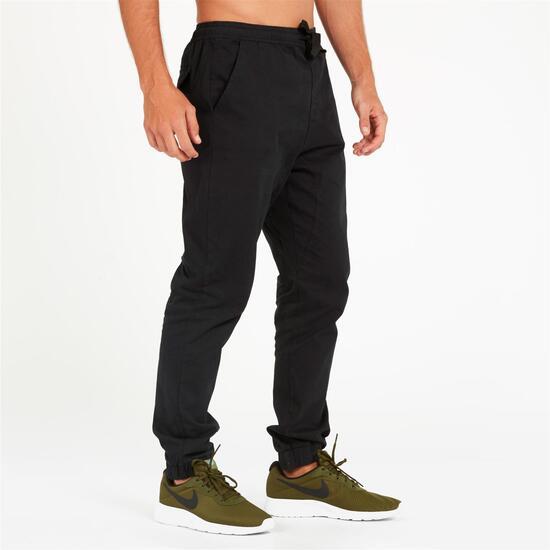Pantalón Largo SILVER STAMPS Negro Hombre