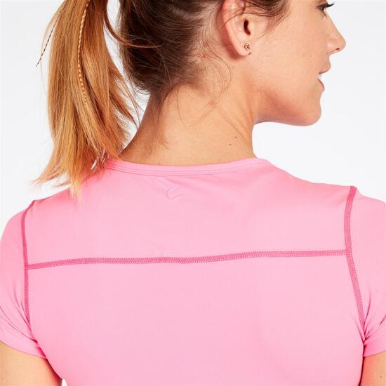 Camiseta Tenis PROTON Rosa Mujer