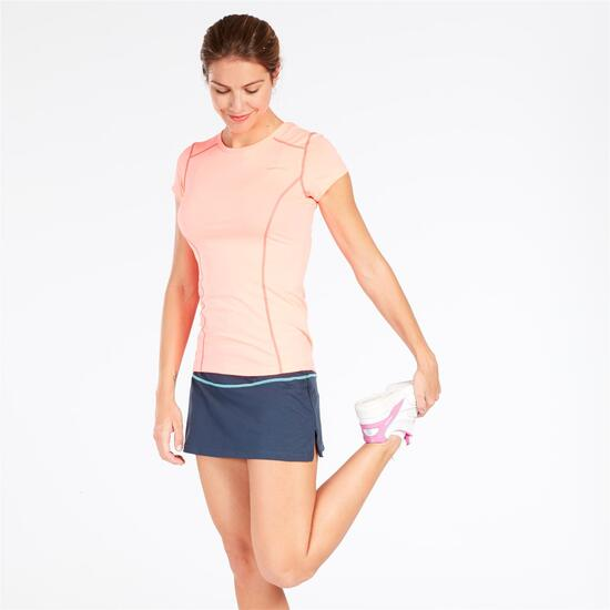 Camiseta Protón Coral Mujer