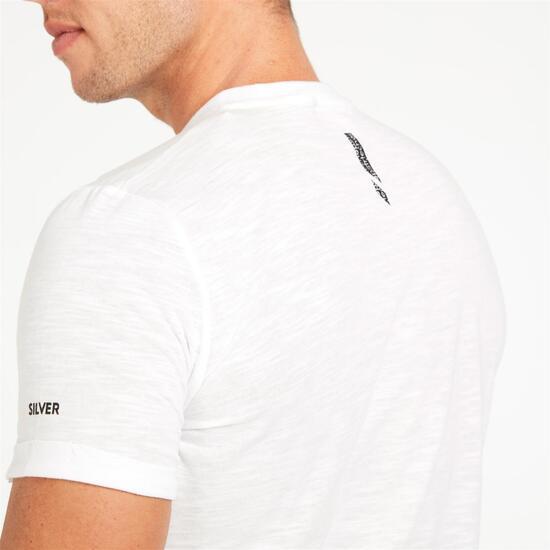 Camiseta SILVER TECH SUMMER Blanco Hombre