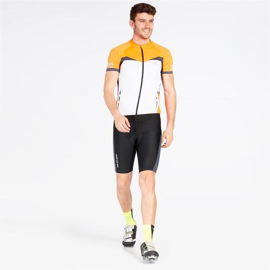 Maillot Ciclismo MÍTICAL ORO Blanco Naranja Hombre