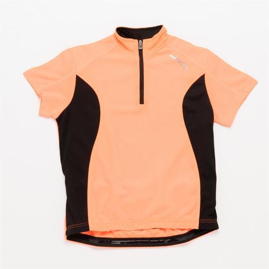 Maillot Ciclismo MITICAL BRONCE Naranja Niño (6-14)