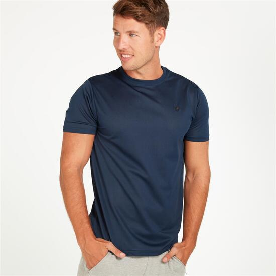 Camiseta UP MESH Marino Hombre