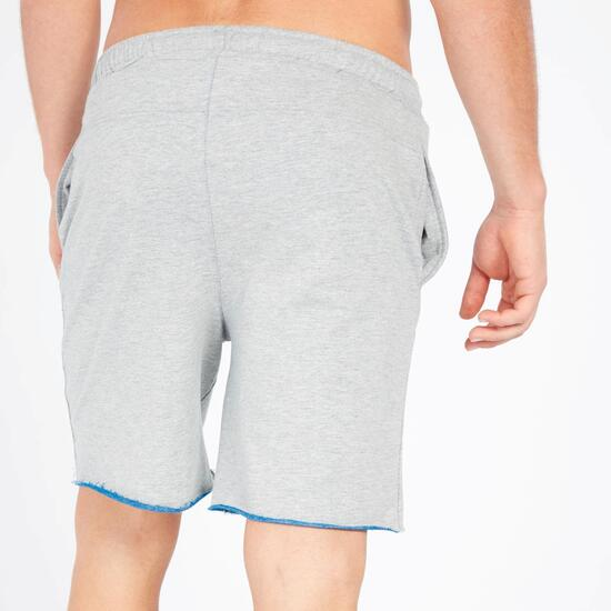Pantalón Corto UP BASIC Gris Azul Hombre