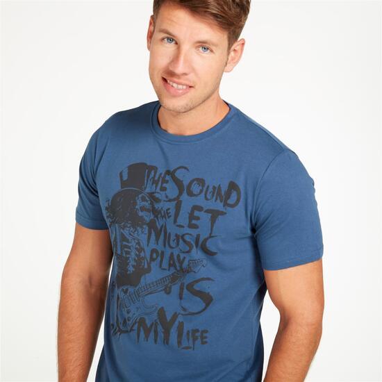 Camiseta UP STAMPS Denim Hombre