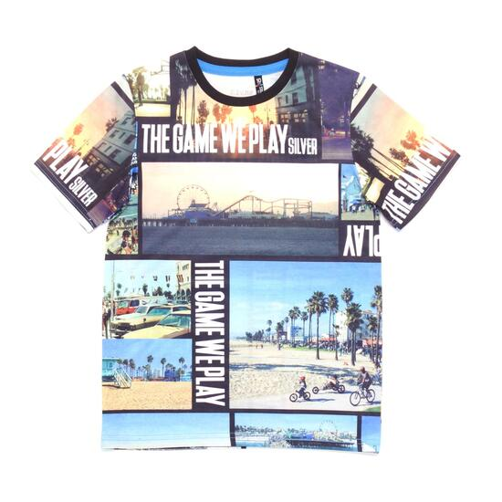 Camiseta Estampada SILVER STAMPS Niño (10-16)