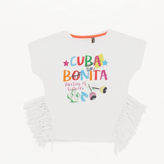 Camiseta Niña Silver Culture Blanco