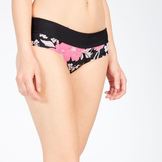 Braga Bikini Cintura Alta Estampado Floral UP STAMPS