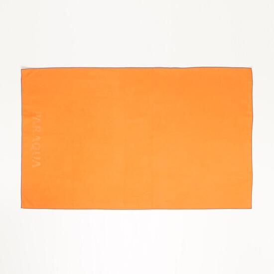 Toalla PARAQUA Microfibra Azul 80x130 Naranja