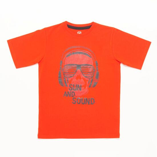 Camiseta Roja Niño Up