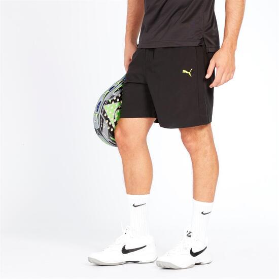 PUMA Pantalón Corto Negro Hombre
