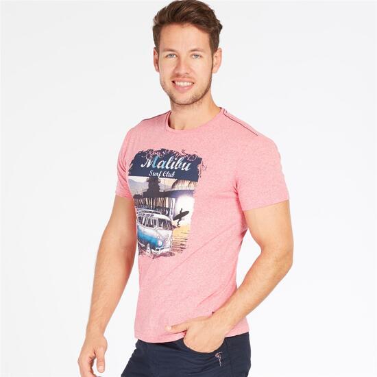 Camiseta Coral TRUNK&ROOTS Hombre