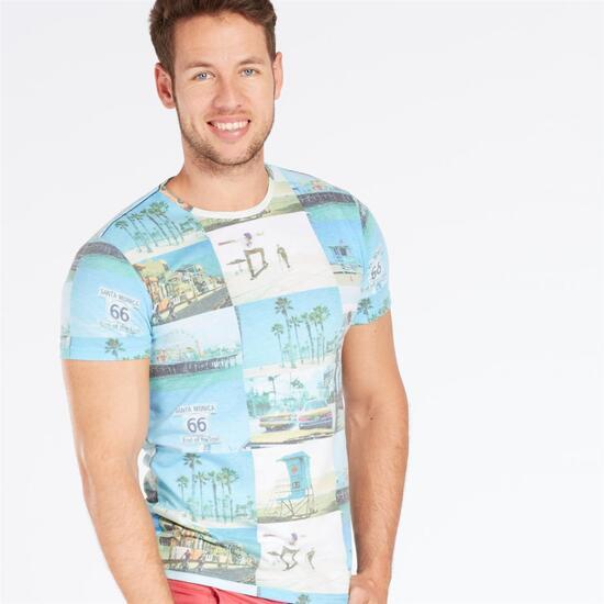 Camiseta Estampada TRUNK&ROOTS Hombre
