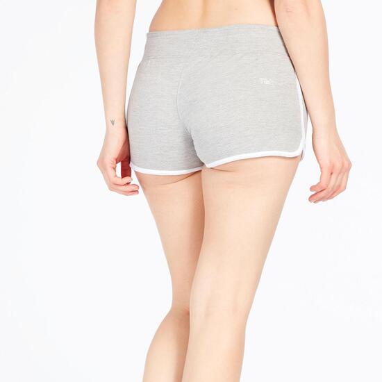 Pantalón Corto TRUNK&ROOTS Gris Mujer