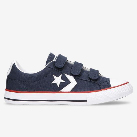 zapatillas lona niño converse