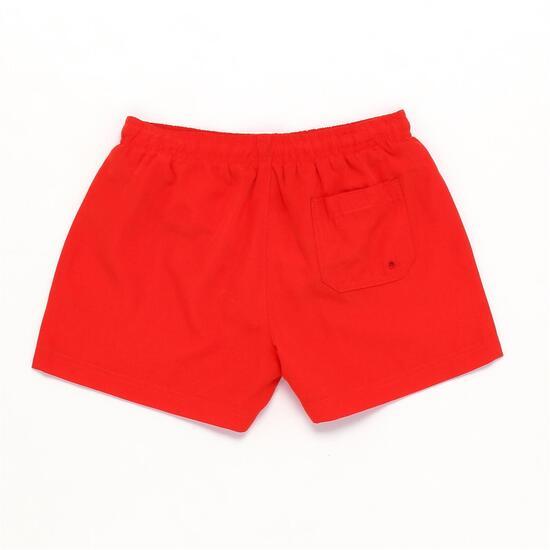Bañador Rojo Infantil Up Basic