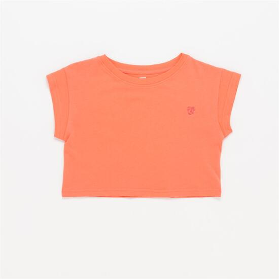 Camiseta Corta UP Coral Niña (10-16)