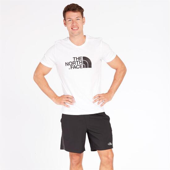 camisetas hombre north face blanca