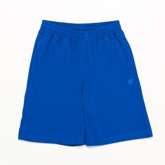 Pantalón Corto UP BASIC Azul Niño (10-16)