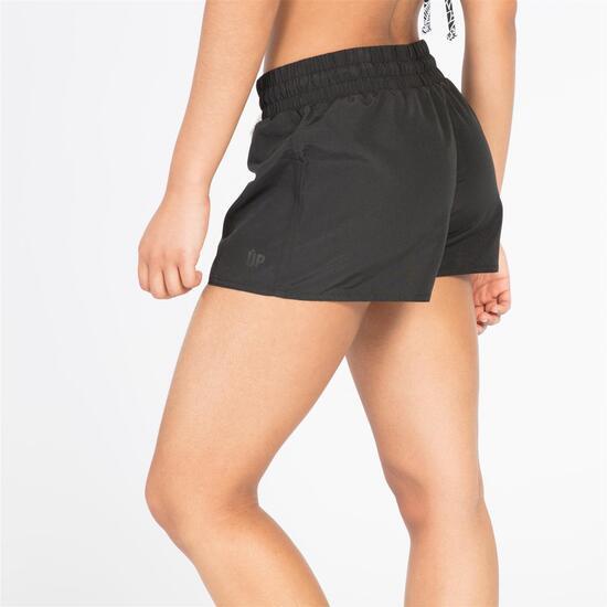 Pantalón Corto Negro Mujer Up