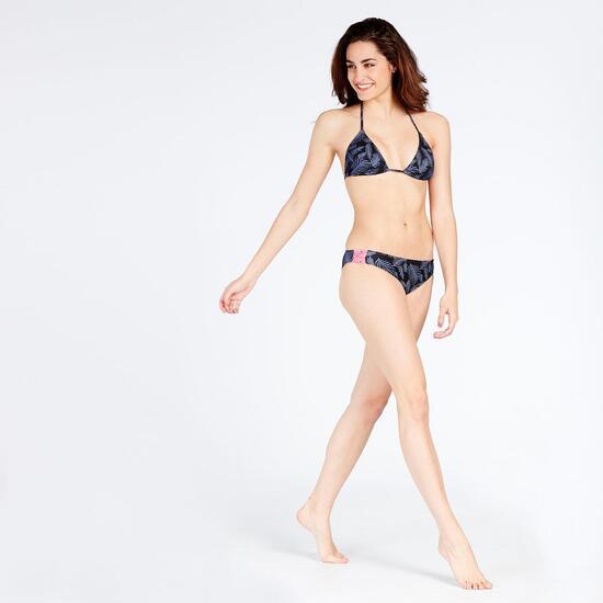 Bikini Triángulo Cortinilla Silver