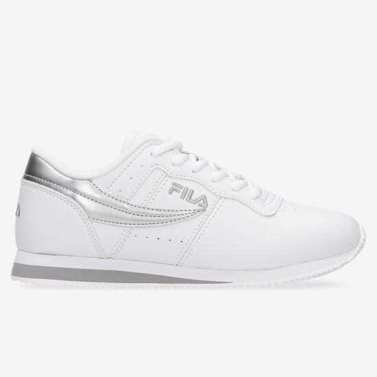 Zapatillas Casuales Blancas Mujer Fila