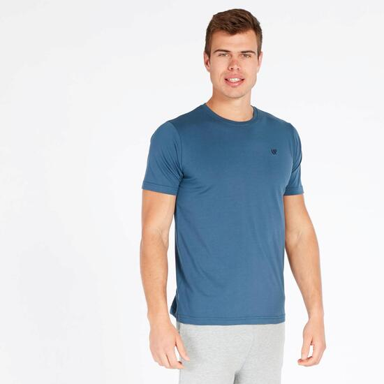 Camiseta Manga Corta UP BASIC Denim Hombre