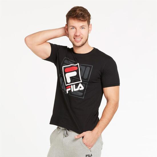 FILA HAZE Camiseta Negra Hombre