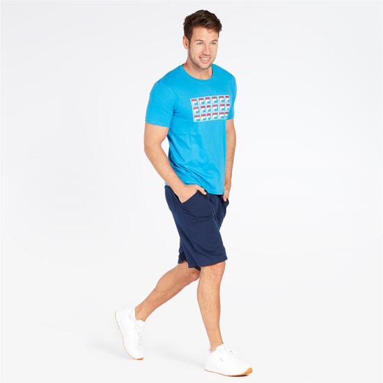 FILA LORENZI Camiseta Azul Hombre