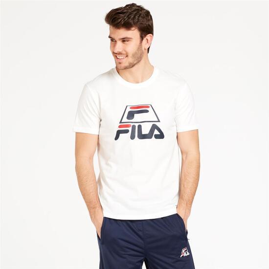 FILA TREY Camiseta Blanca Hombre