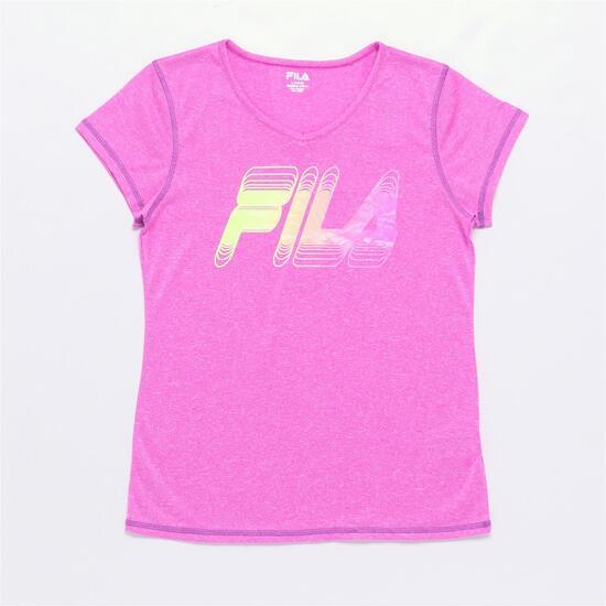 FILA PURPLE Camiseta Fucsia Niña (6-16)