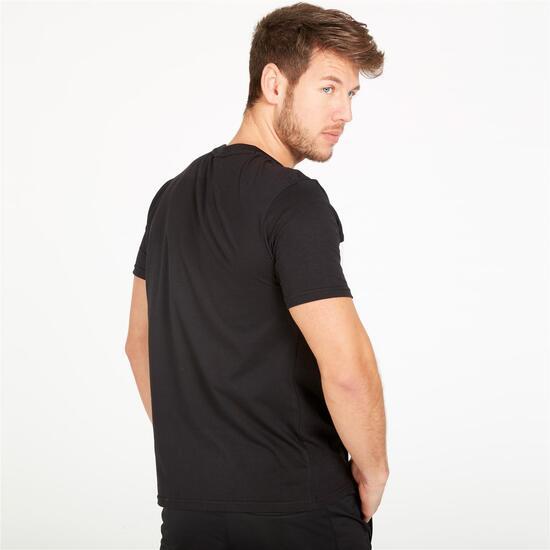 FILA MANCHEE Camiseta Negra Hombre