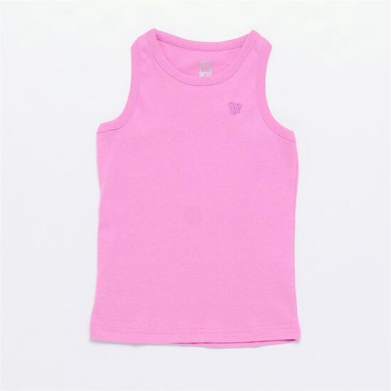 Camiseta UP BASIC Rosa Niña (2-8)