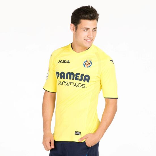 JOMA VILLARREAL Camiseta Oficial 1ª Equipación Amarillo Hombre