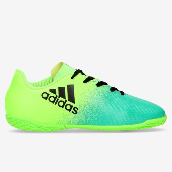d76cc38276e13 Sala 4 Adidas 28 16 Fútbol X Niño Zapatillas 35 Verde A5qBCw66