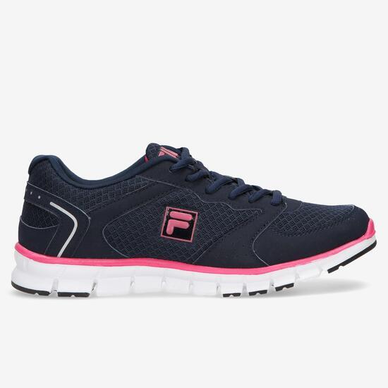 FILA COMET Zapatillas Running Marino Mujer