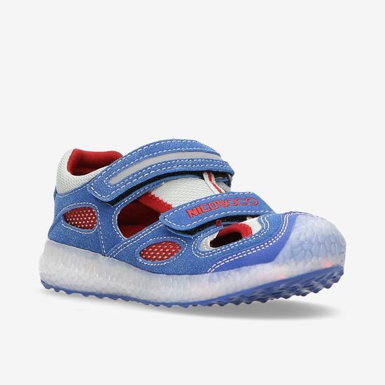 Sandalias Azul Niño Nicoboco Panter